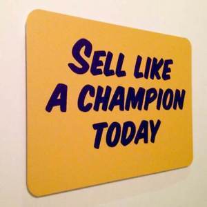 How To Sell Like a Champion at Your Dealership